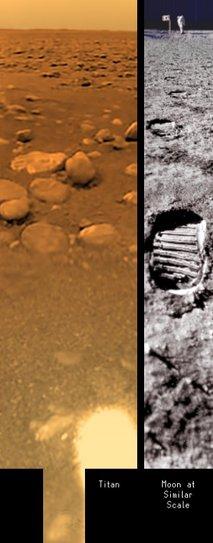 Površje na Titanu - 2