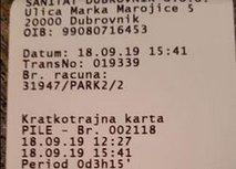 Preden parkirate, poglejte cenik, da vam kasneje ne bo žal