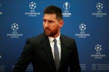 Messi ostaja na stranskem tiru (vsaj) do gostovanja v Dortmundu