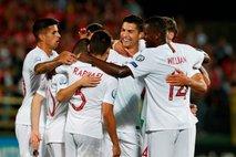 Ronaldo s štirimi goli še bližje stotici v dresu Portugalske