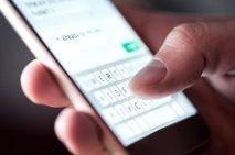 Od aprila do junija smo poslali za skoraj petino manj SMS-ov a več MMS-ov