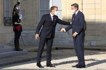 Pahor in Macron imela 'dolg, iskren in izčrpen pogovor'