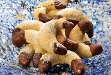 Kokosovi rogljički s čokolado