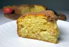 Super preprost kolač z jabolki