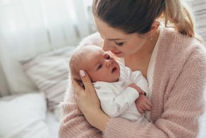 ''Hčerka je pohitela, rodila sem v treh urah.''