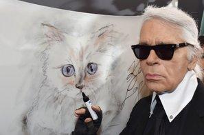 Muza pokojnega Lagerfelda