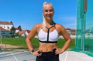 To je seksi športnica, ki je bila razlog spora v taboru slovenskega atleta