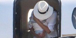 Meghan Markle in princ Harry prispela v Nico