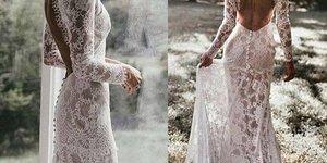 'Gole' poročene obleke bodo hit leta