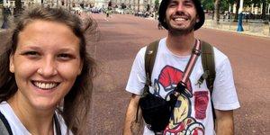 Klara in Marko sta se iz Londona vrnila polna nepozabnih vtisov