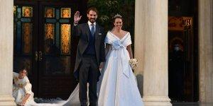 Grška kraljeva poroka: Krščenec princese Diane dahnil usodni 'da'