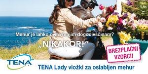 Naroči brezplačne TENA Lady vložke!