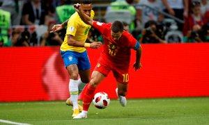 Neymar dvignil prah: Hazard je nogometaš, s katerim bi si želel igrati
