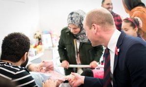 Princ William obiskal 5-letno deklico, ki je preživela strelski napad