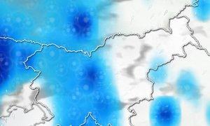 ANIMACIJA: Začetek prvomajskih počitnic bo v znamenju padavin