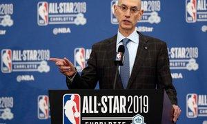 Silver: Odločitve o nadaljevanju NBA-sezone ne bo pred začetkom maja