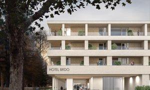 Prenovljen hotel Brdo bo imel 136 sob, od tega dva predsedniška apartmaja