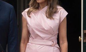 Melania Trump navdušila v obleki tega poletja