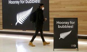 Avstralija in Nova Zelandija odprli potovalni mehurček