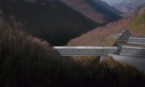 Začeli betoniranje viadukta Glinščica: 'Objekt bo zgrajen v roku'
