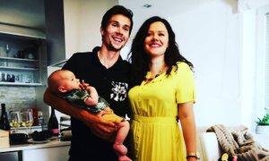 Primož Roglič delil prvo družinsko fotografijo