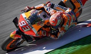 Marquez še devetič v sezoni z najboljšega startnega položaja