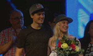 Janja Garnbret: Ko vidim domače ljudi, da so veseli in ponosni na mene, mi to ...