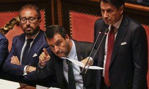 Conte: Italijanske vlade je konec
