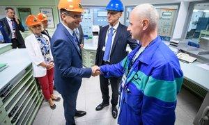 Šarec ob obisku Nuklearne elektrarne Krško podprl gradnjo drugega bloka