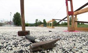 NK Interblock parkirišče in vadbene prostore postavil na tujem zemljišču, zdaj ...