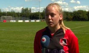 Nizozemska najstnica bo kot prva lahko zaigrala za moško ekipo