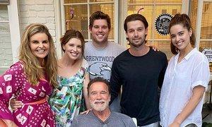 Arnold Schwarzenegger rojstni dan praznoval z nekdanjo ženo
