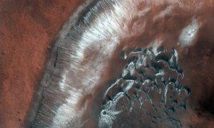 Bi v na novo odkritih grebenih Marsa lahko obstajalo življenje?