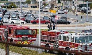 V incidentu pred Pentagonom ustreljen policist