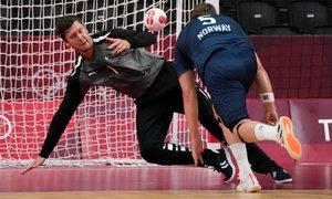 V rokometnem polfinalu Danska, Francija, Španija in Egipt