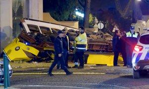 V nesreči tramvaja v Lizboni poškodovan tudi šestmesečni dojenček