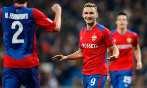 CSKA še drugič na kolena spravil prvake, na Bernabeuu blamaža Reala