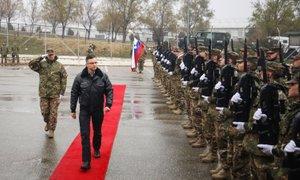'Ne bomo poslušali, da Slovenija ne potrebuje vojske ali Nata'