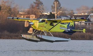 V Kanadi izvedli prvi komercialni let z električnim letalom
