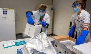Tokratna pošiljka cepiv manjša in namenjena za drugi odmerek
