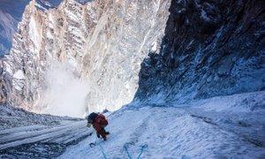 'Občutek, ko plezaš po visokih stenah hitro in lahkotno brez varovanja, te ...