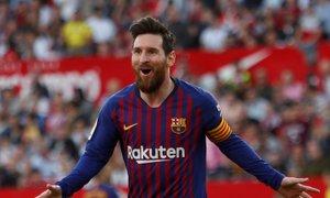 Predstava za v anale: Messi 'uničil' Sevillo, Barca na plus deset