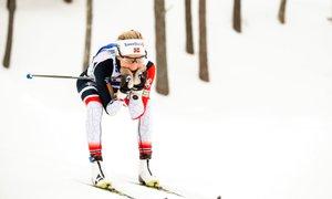 Norveški zlati komplet: Johaugova in Roethe prvaka v skiatlonu, Čebaškova 36.