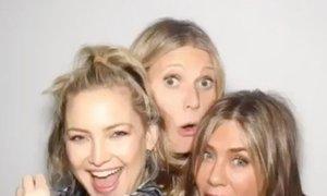 Utrinki z velike zvezdniške zabave Jennifer Aniston