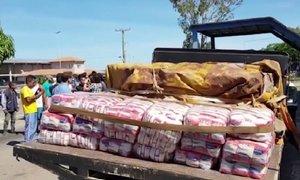 Na venezuelska tla prispela prva humanitarna pošiljka