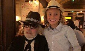 Bo 11-letnik podedoval lep delež po Lagerfeldovi smrti?