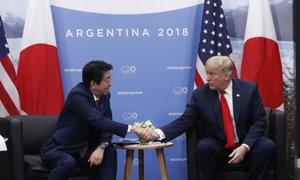 Trump prosil japonskega premierja, naj ga nominira za Nobelovo nagrado