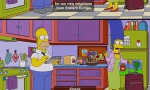 Slovenija se je 'prikradla' v Simpsone