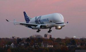 Airbus Beluga XL razširil krila nad Evropo
