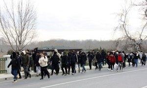 Turški mediji: Na mejo z Evropo več sto migrantov